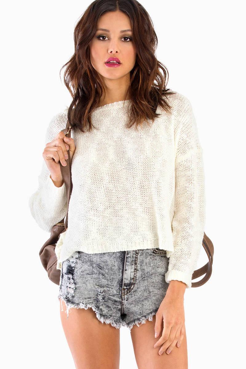 Save Tonight Sweater