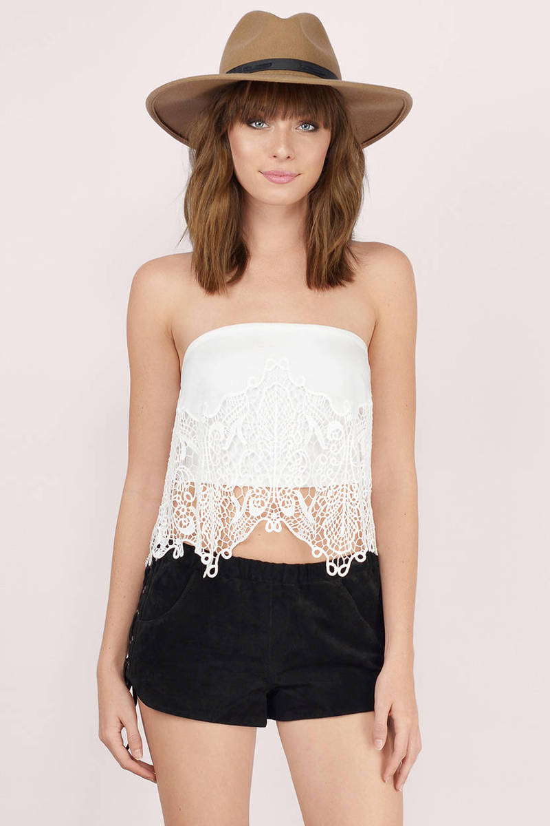 Serenity Ivory Embroidered Silk Top
