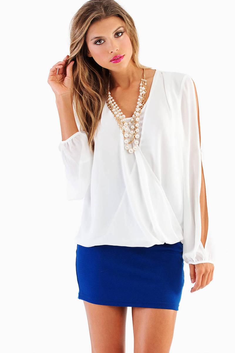 Sharon Scoop Neck Top