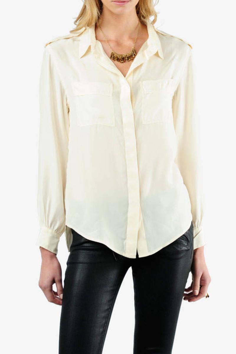 bba2327b7272f5 White Iro Shirt - Silk Button Down Shirt - White Designer Shirt ...