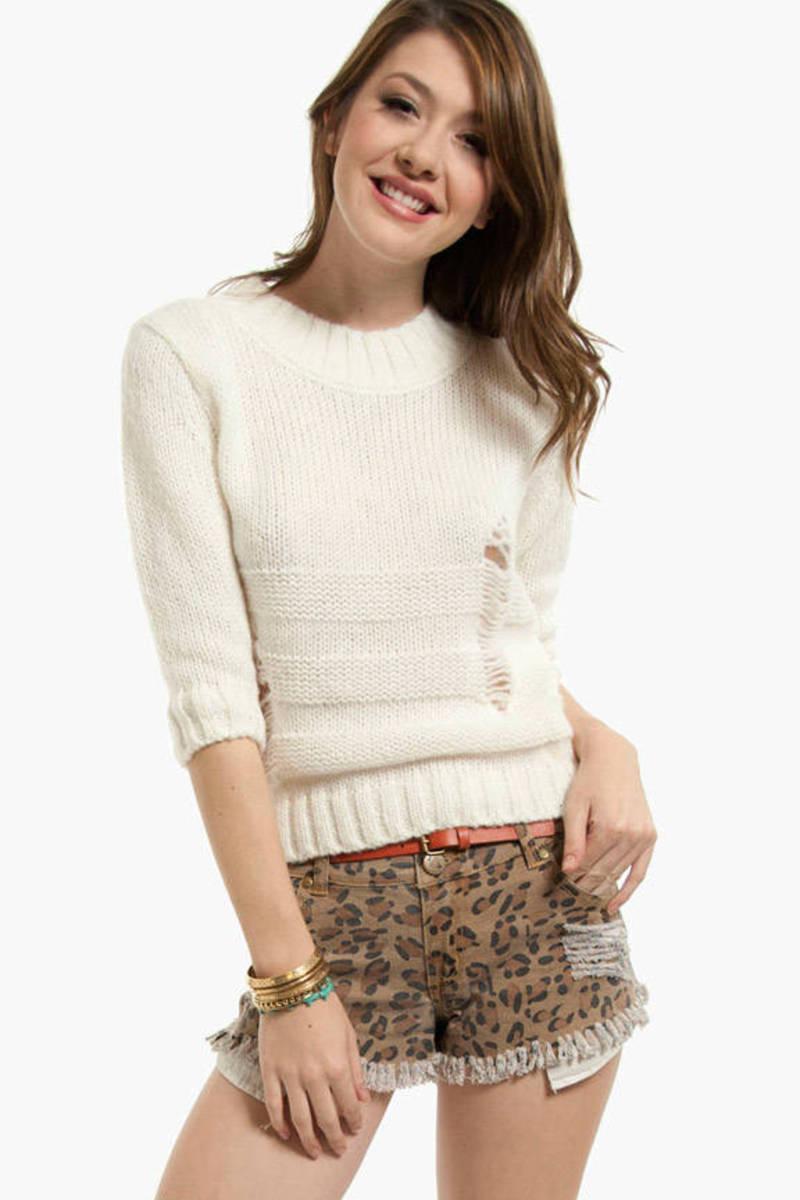Vintage Crochet Sweater