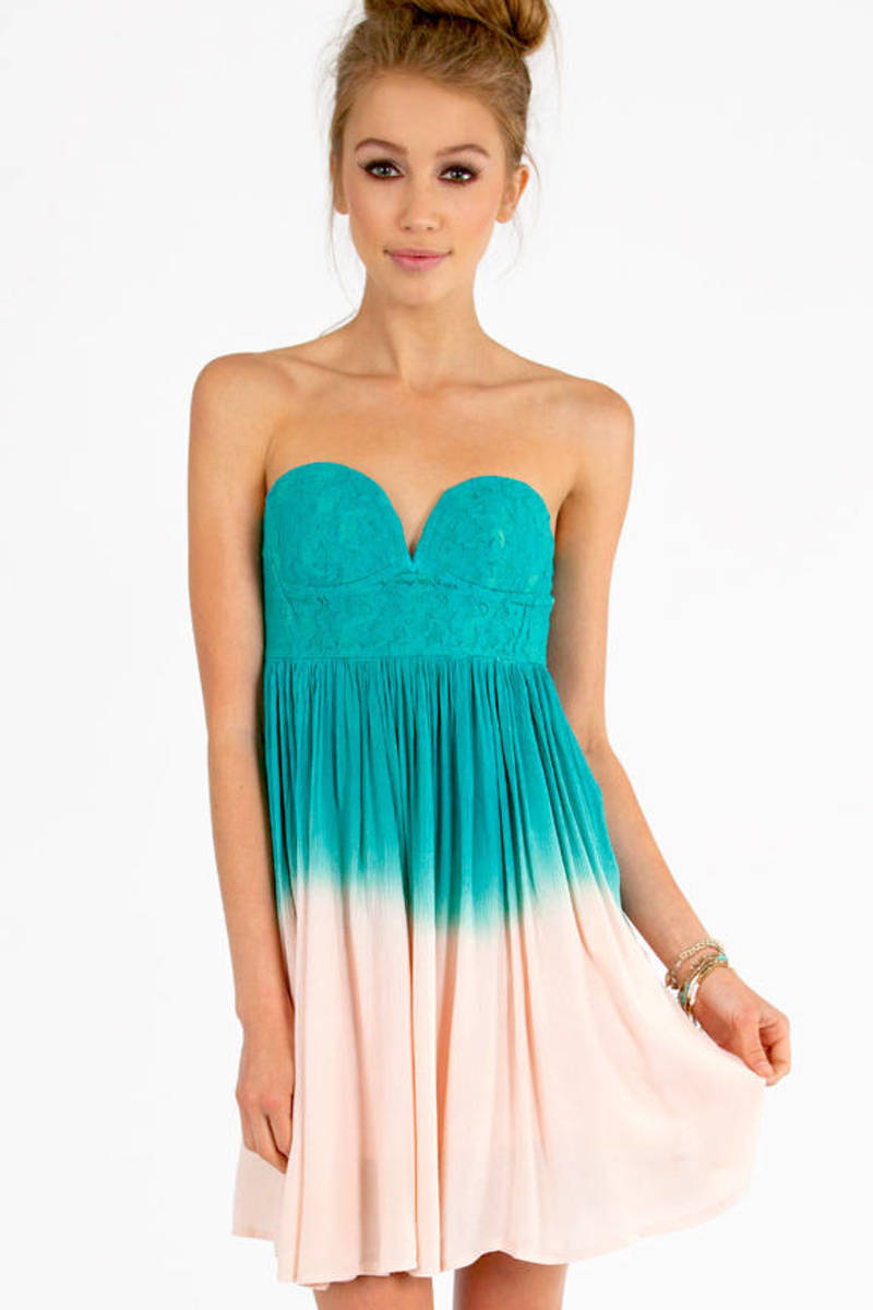 Ombre To My Heart Dress