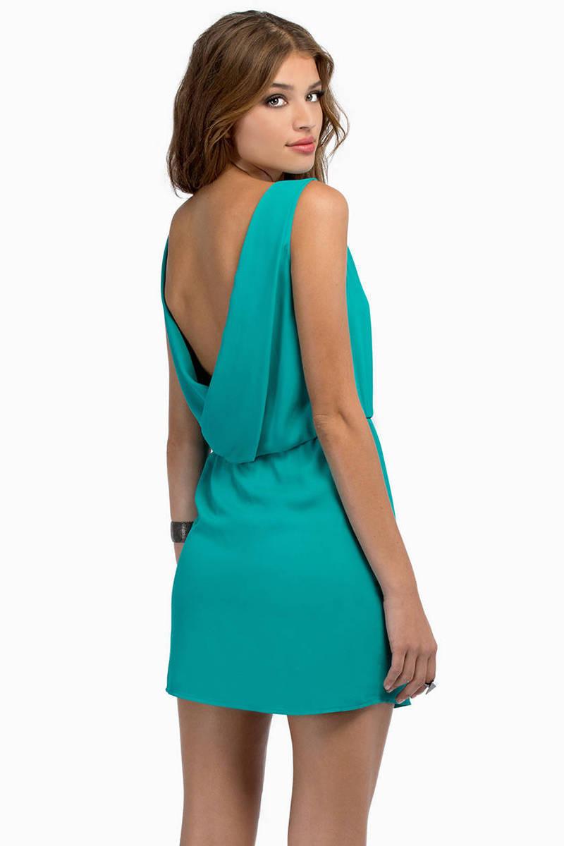 Sweet Jade Day Dress