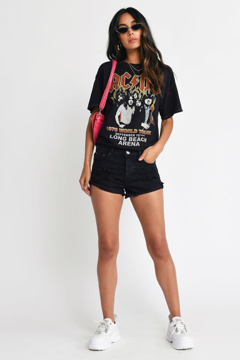 Los Feliz Jaguar Denim Shorts