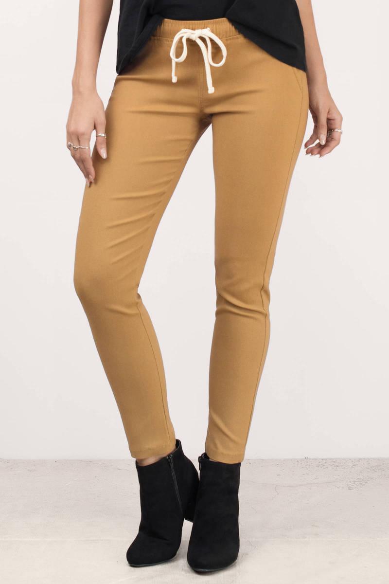 Mila Khaki Pants