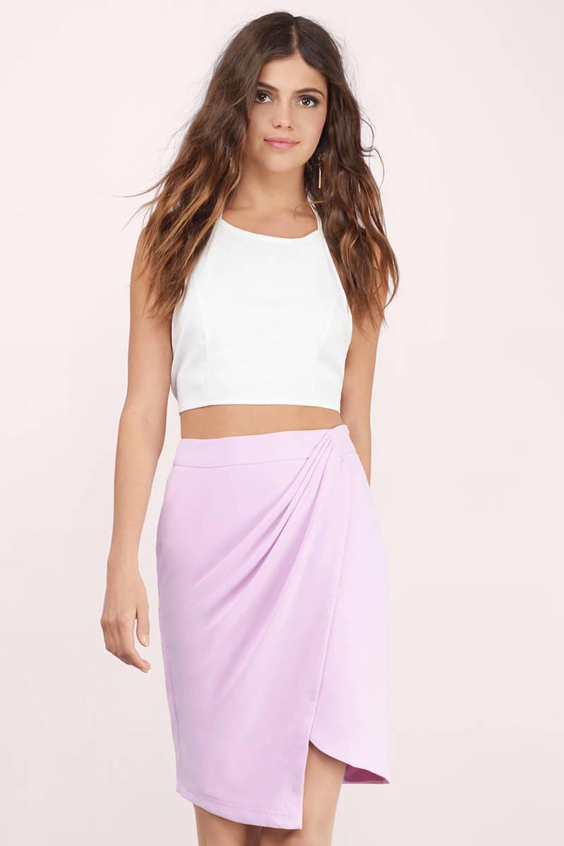 7f16706002 Lavender Skirt - Purple Skirt - Pastel Midi Skirt - Lavender Skirt ...