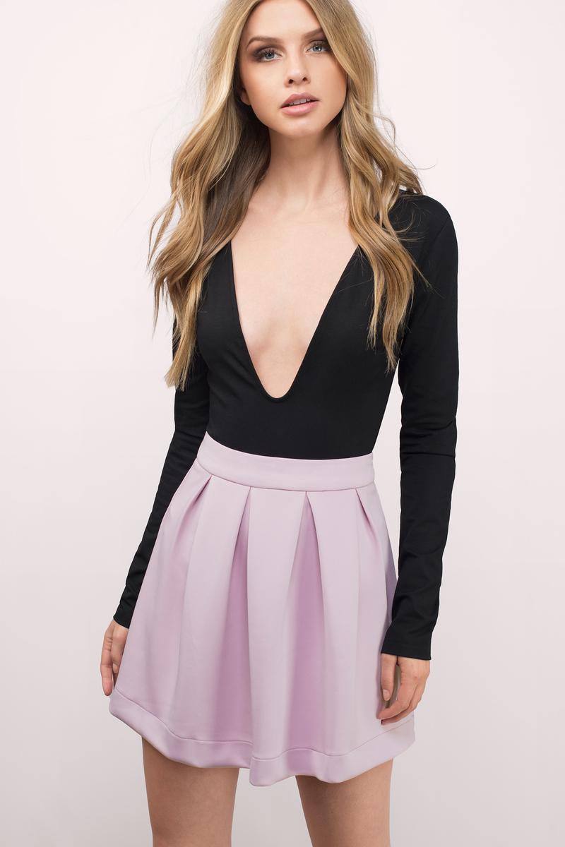 Evelyn Scuba Skirt