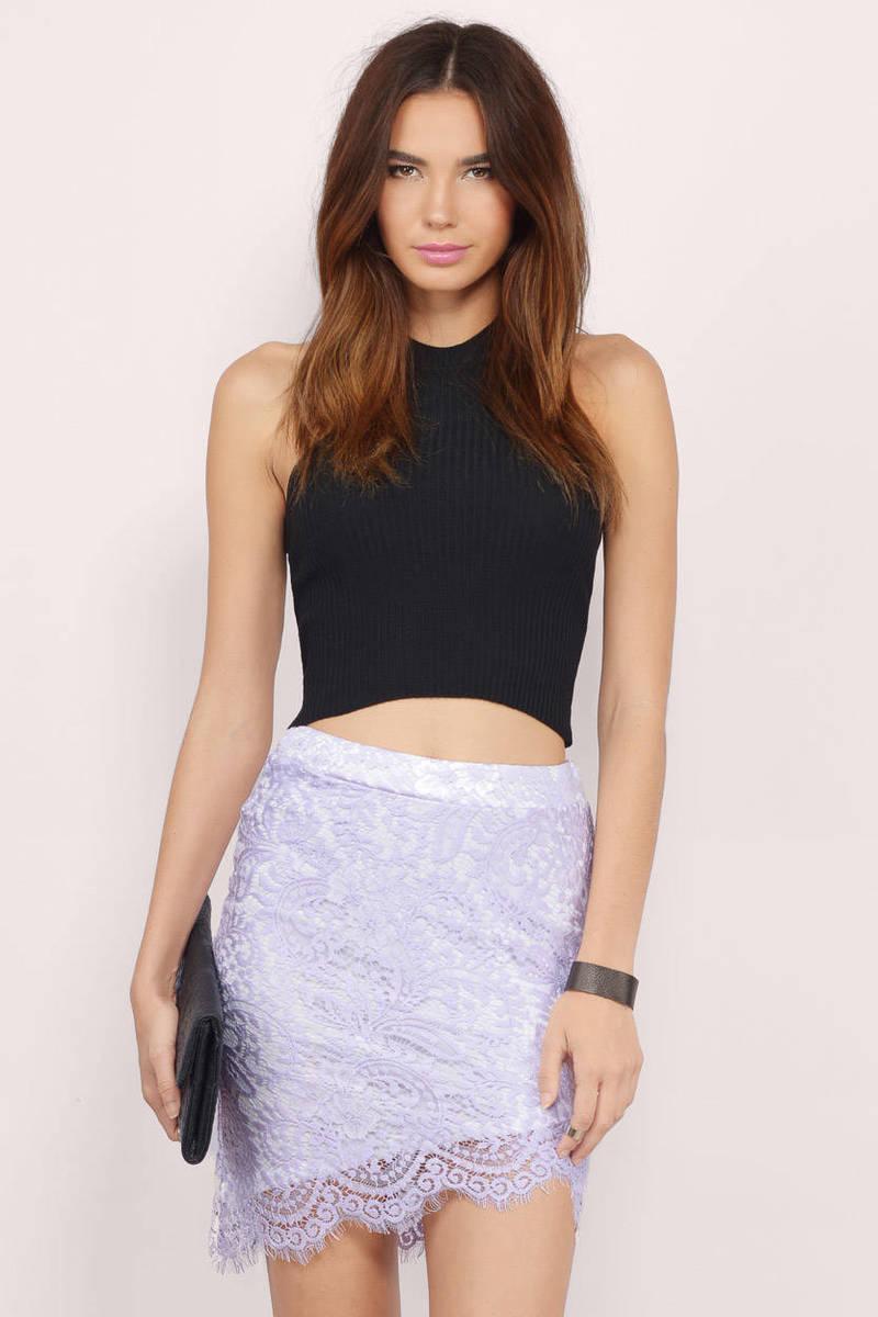 trendy lavender skirt purple skirt lace skirt 1000