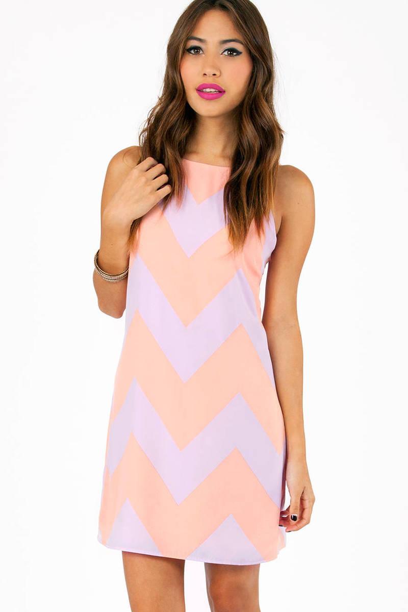 Linus Zig Zag Sleeveless Dress