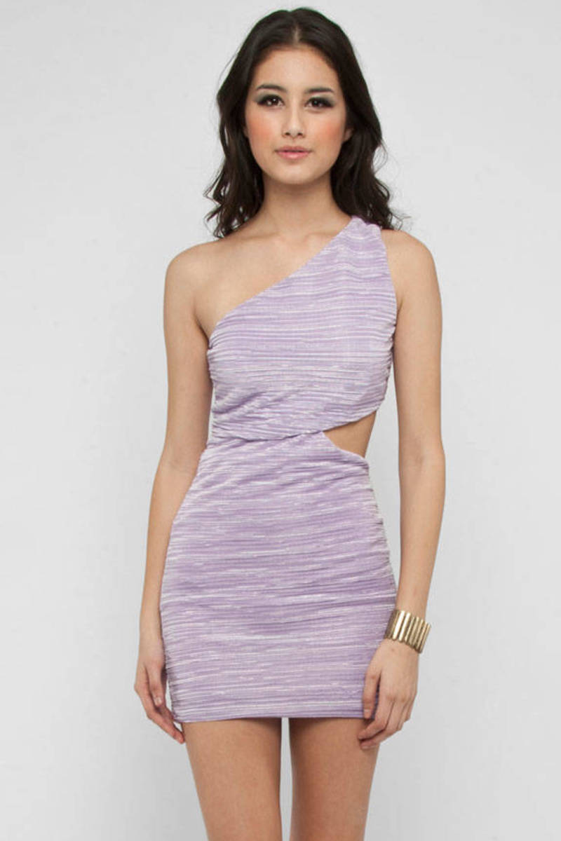 Pleated Bodycon Dress