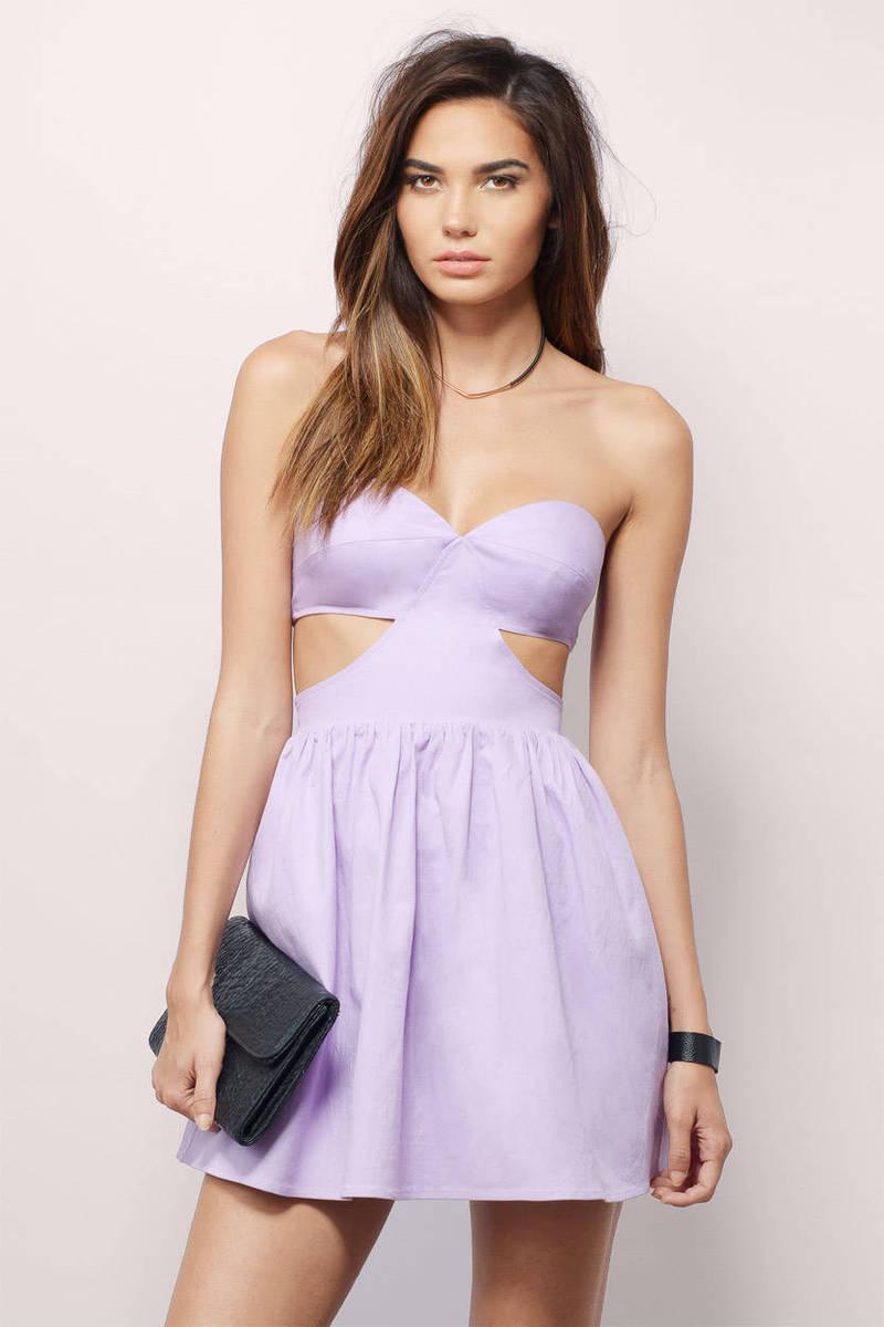 Sheridan Lavender Skater Dress