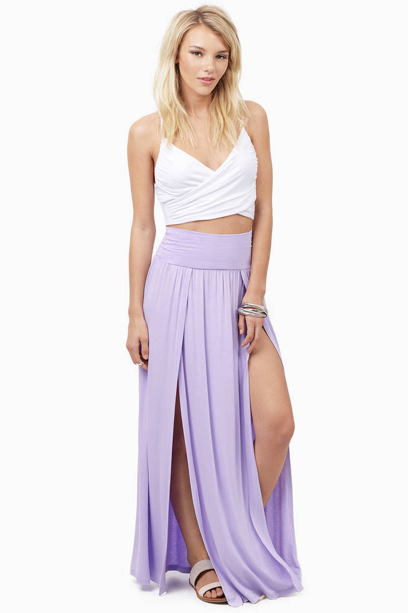 Slit Personality Skirt