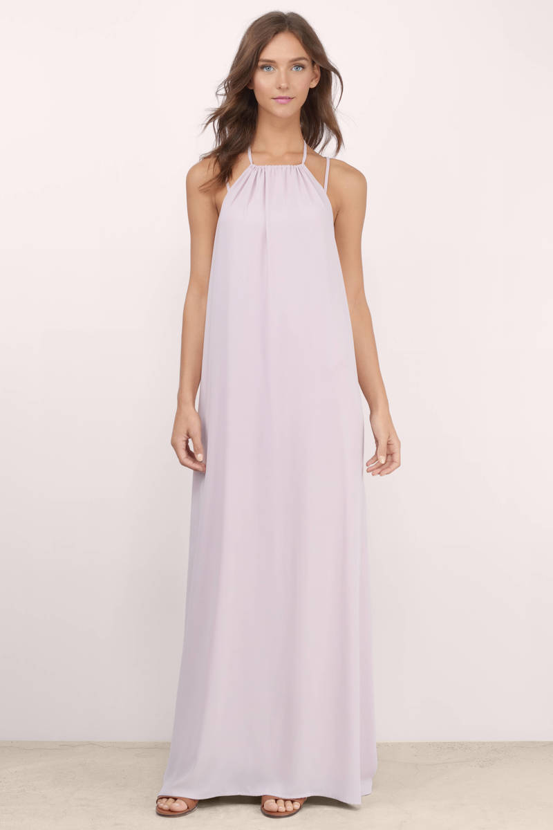 Soulmate Lavender Maxi Dress