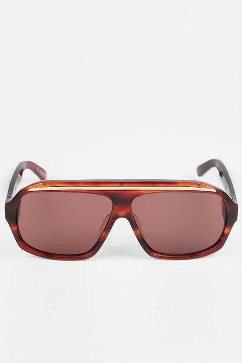ef11ef96bd Regor Sunglasses In Leopard Haze Tort -  111