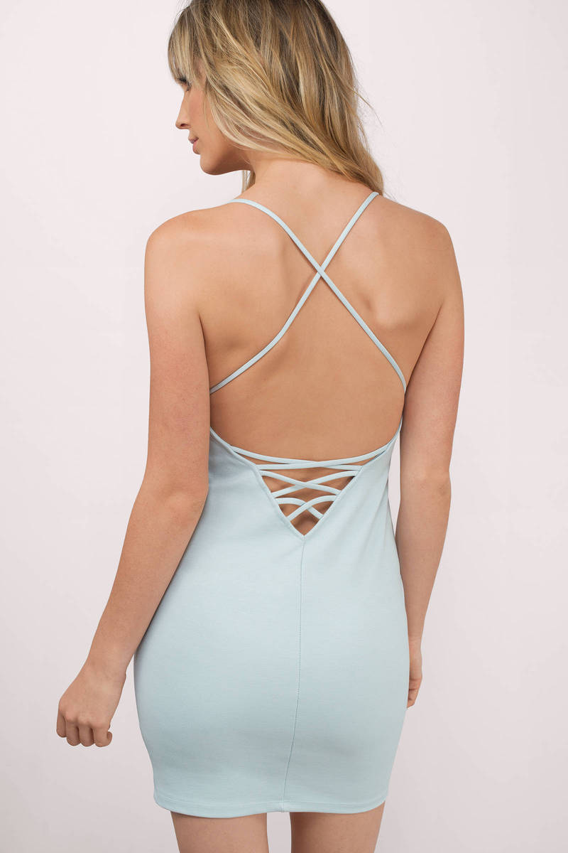 Amalia Sexy amalia plunging bodycon dress
