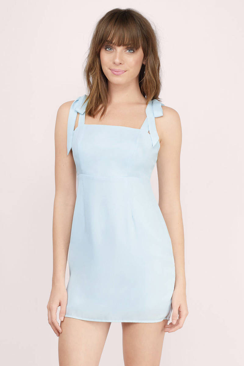 Made To Be Yours Light Blue Bodycon Dress