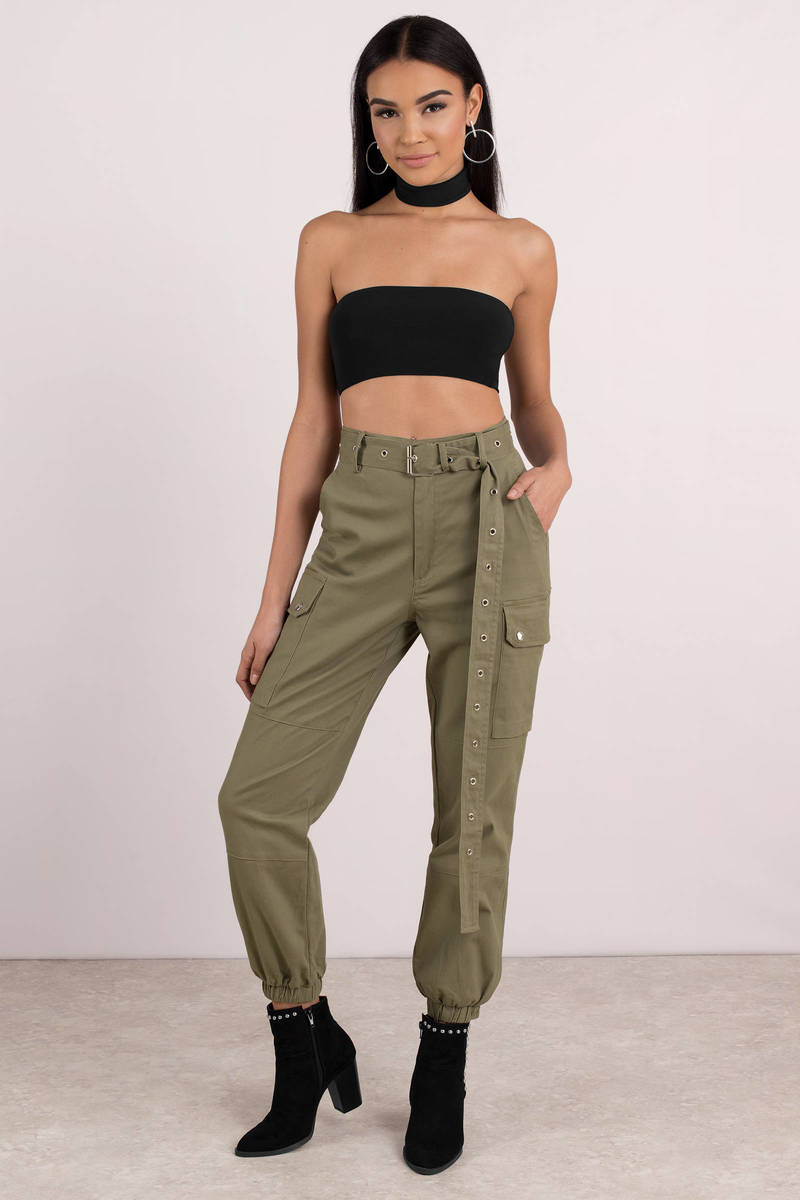 big collection numerousinvariety sale retailer Private Kelly Belted Cargo Pants