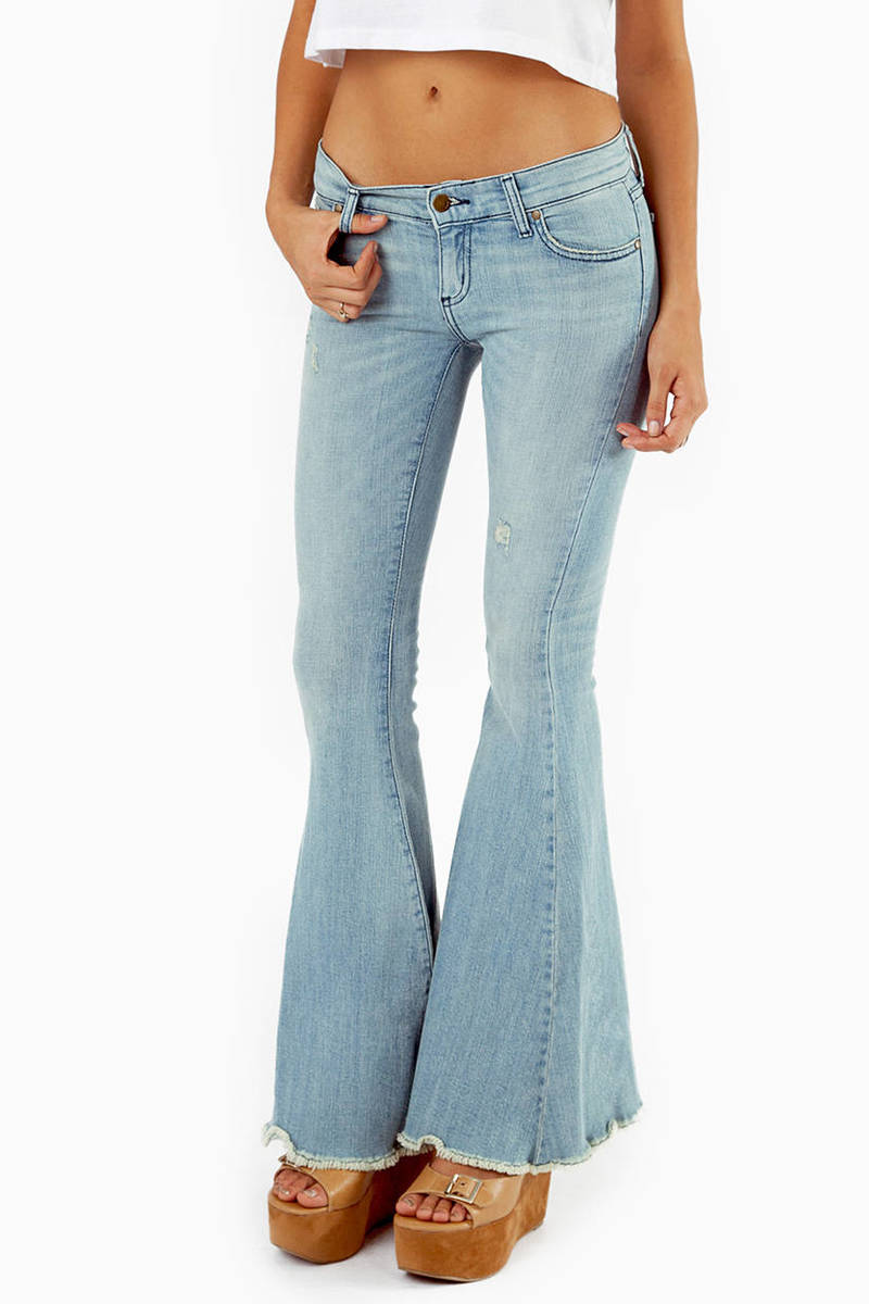 Eunina Bopple Flared Denim Jeans