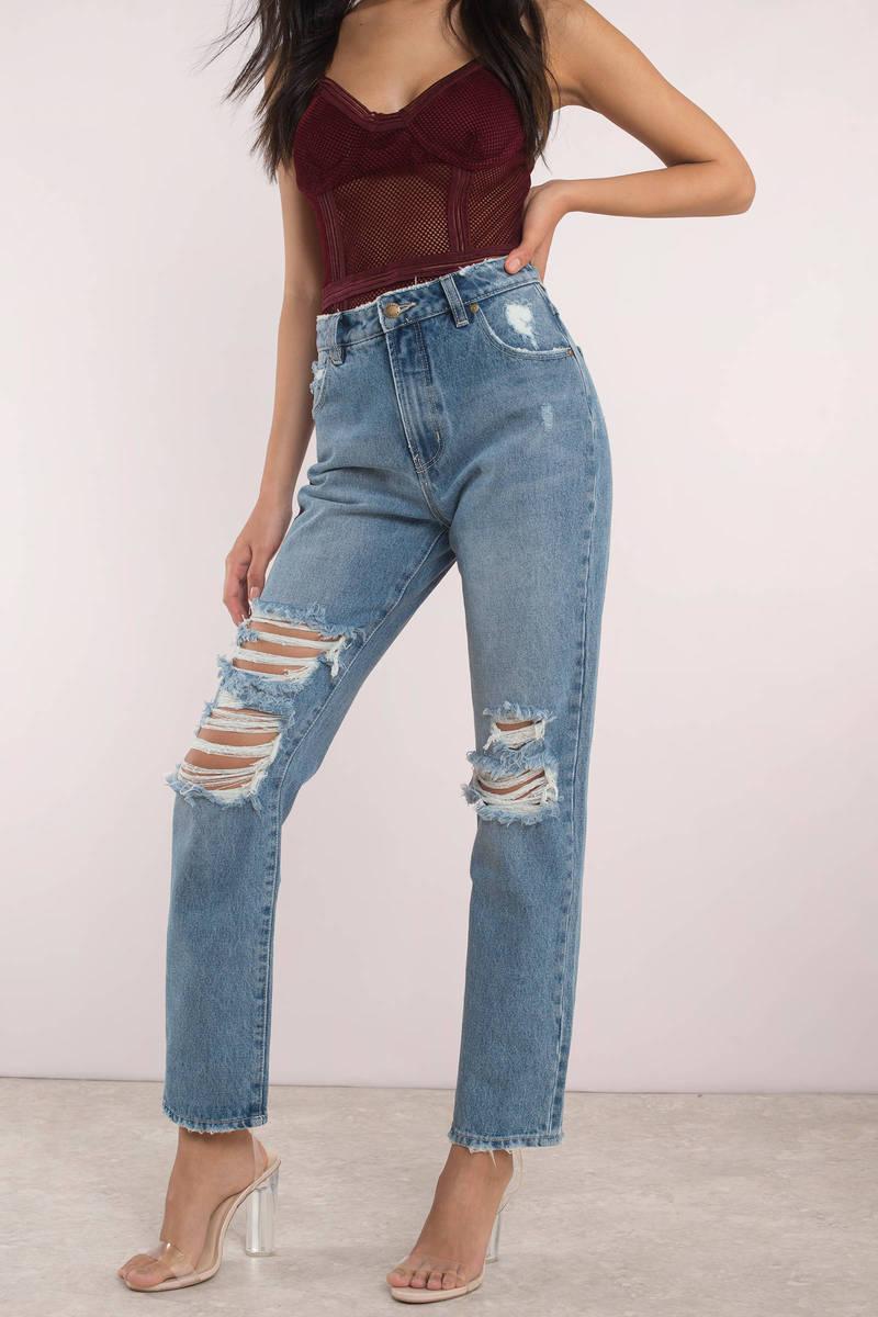 ROLLA'S Rolla's Original Light Wash Straight Denim Jeans