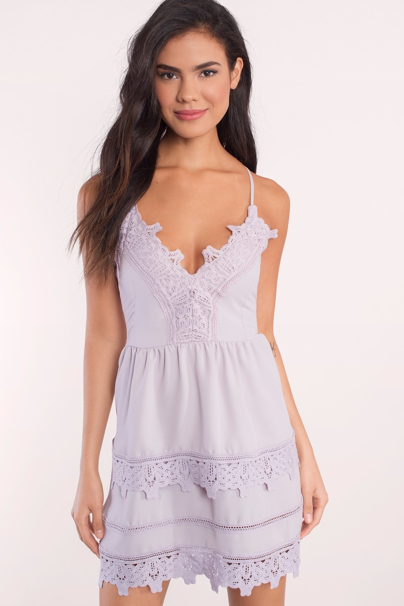 Truly Yours Lilac Skater Dress