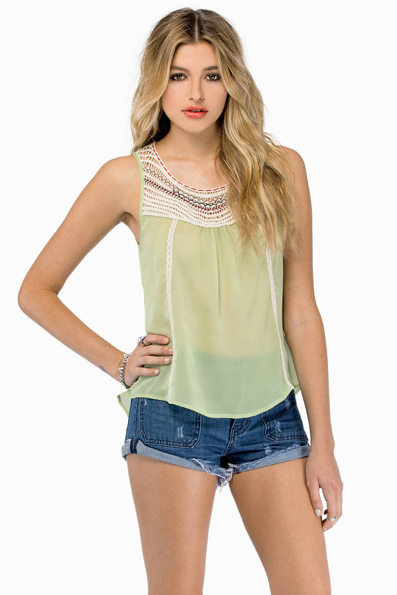 Southwest Sunset Tank Top