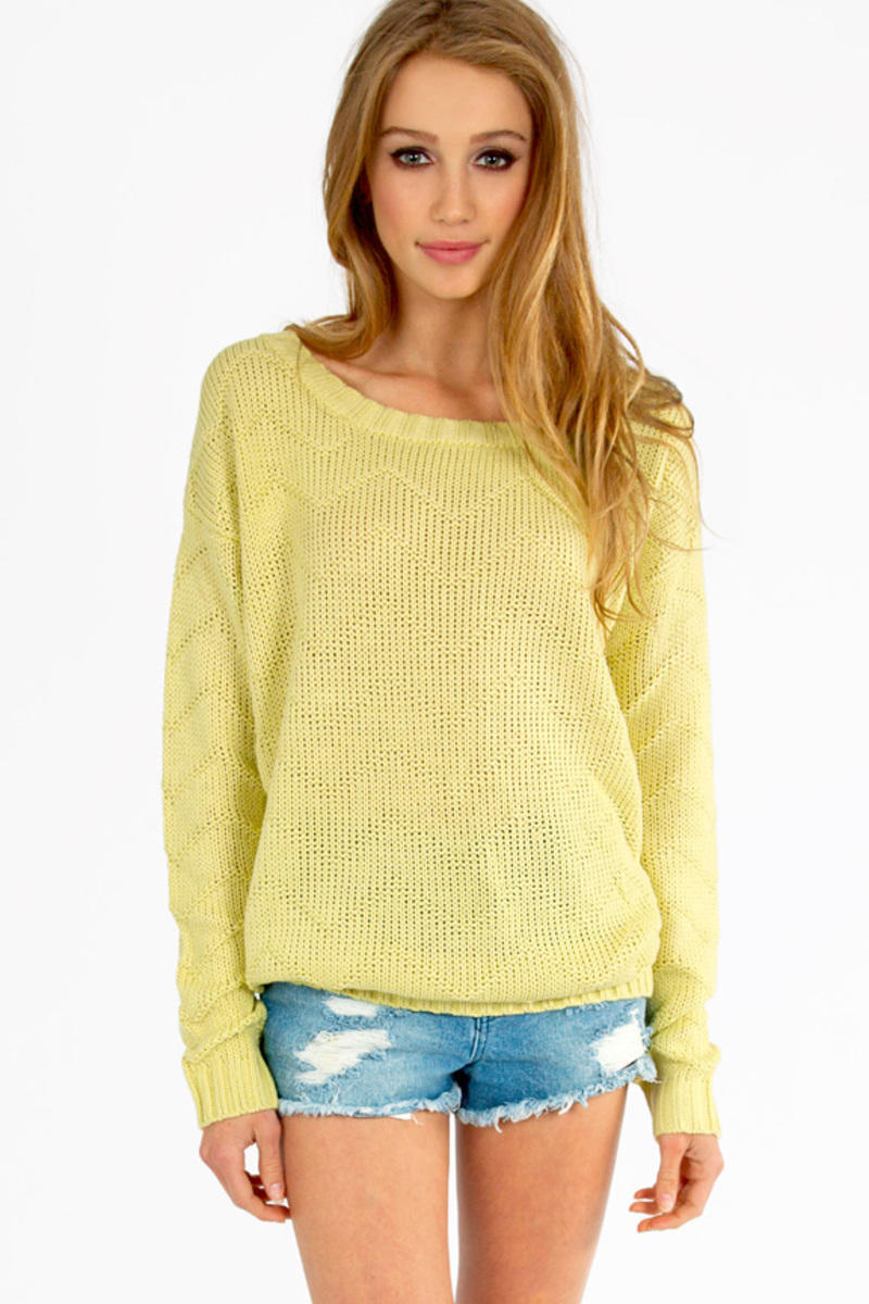 Zig Rib Sweater