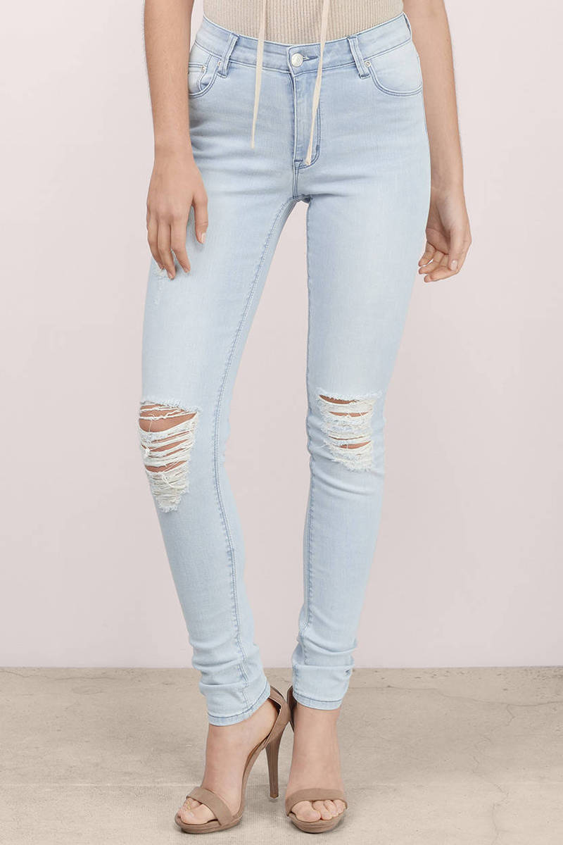 RES Denim Res Denim Kitty Love Moves Destroyer Skinny Jeans