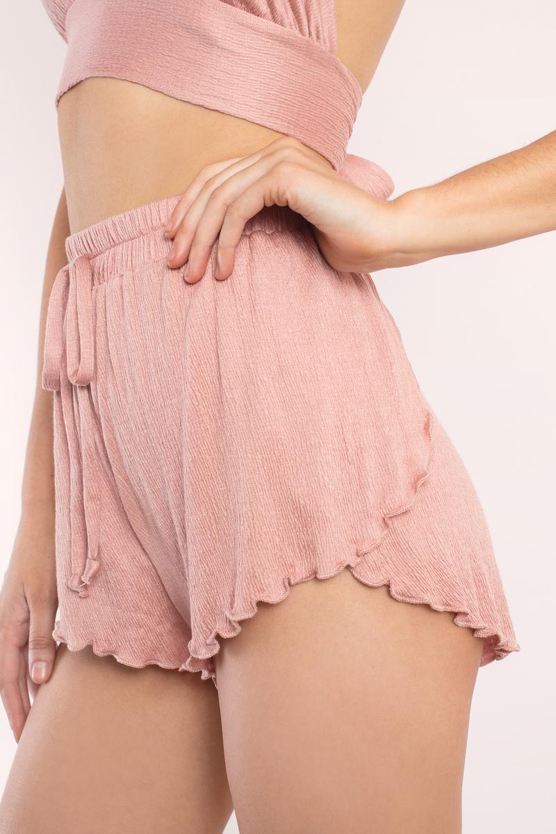 California Dreaming Mauve Shorts