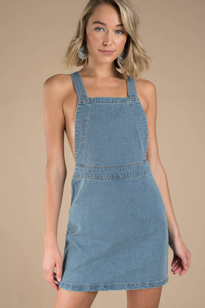 8c9f137fc87 Jean Dress Overall - Dress Foto and Picture