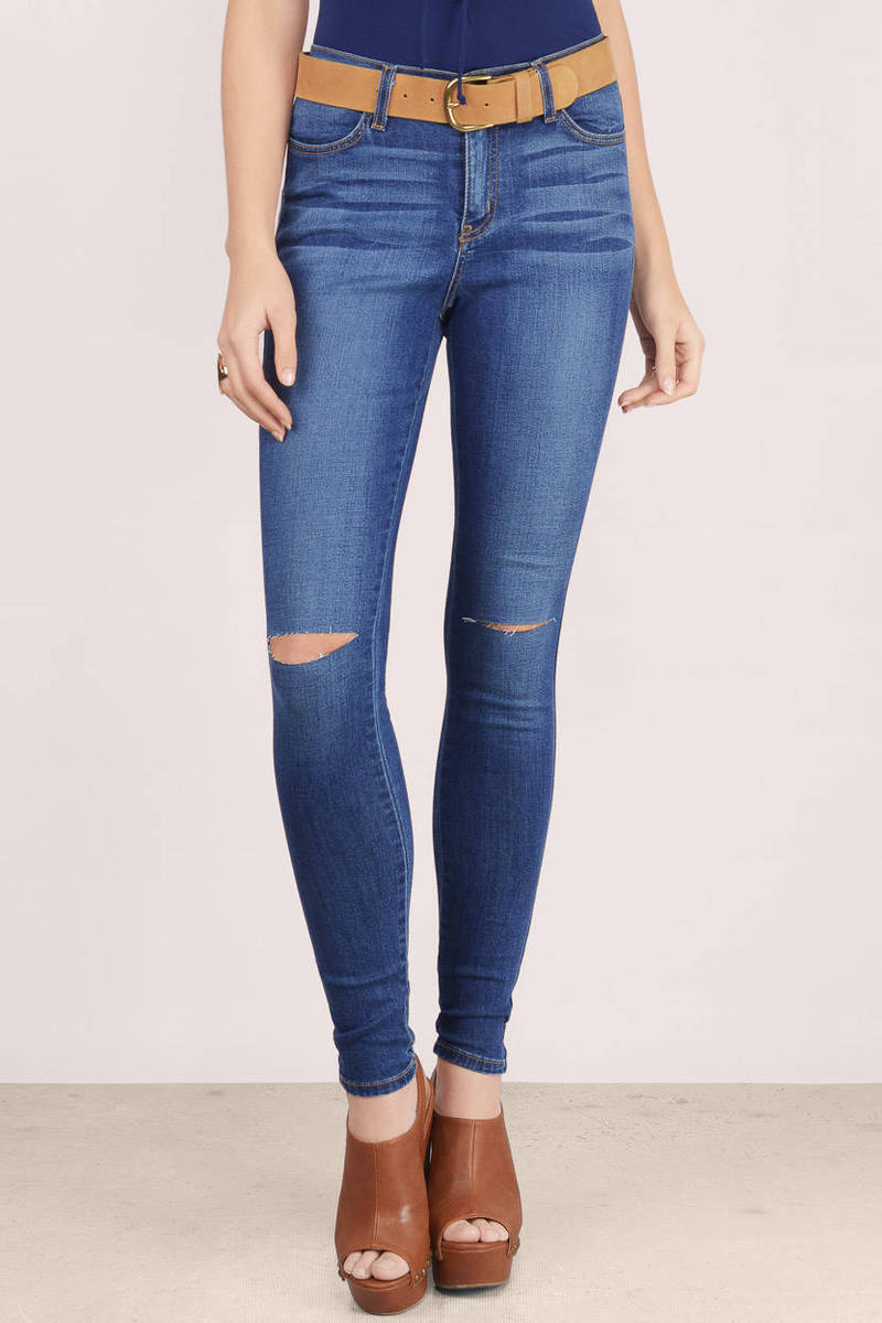 Harley Medium Wash Denim Jeans