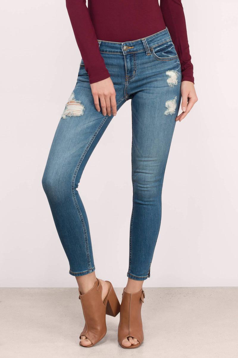 Kasia Medium Wash Denim Skinny Jeans