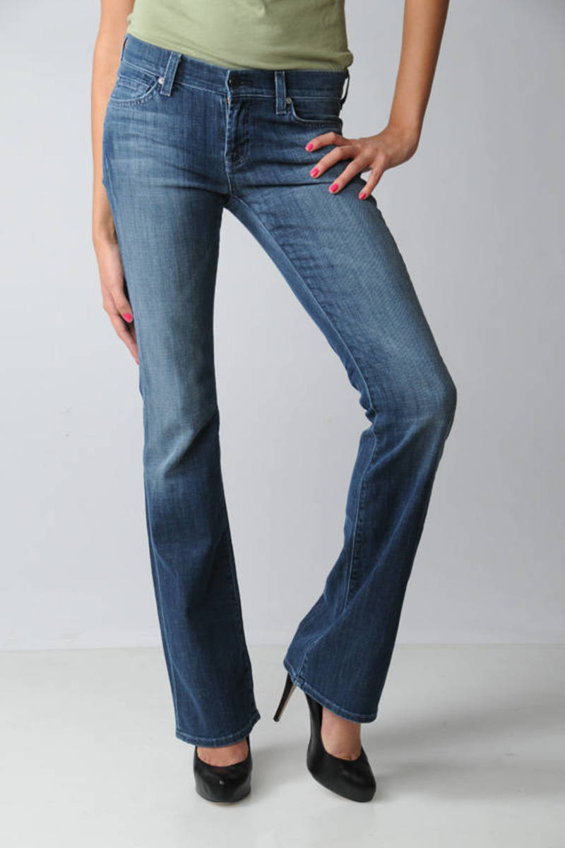 latest trends buying now hot sale online Bootcut with Flap Jeans in Medium LA