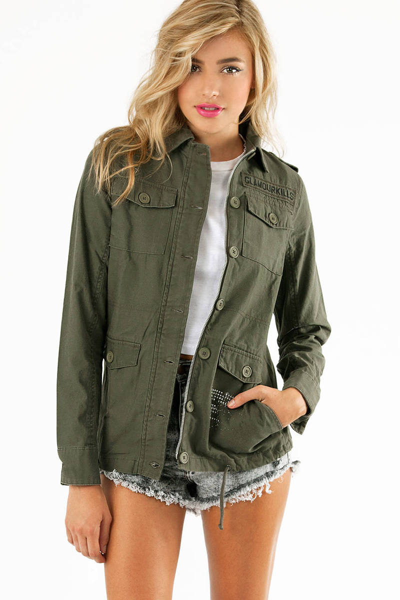 Glamour Kills Basic Training Surplus Jacket