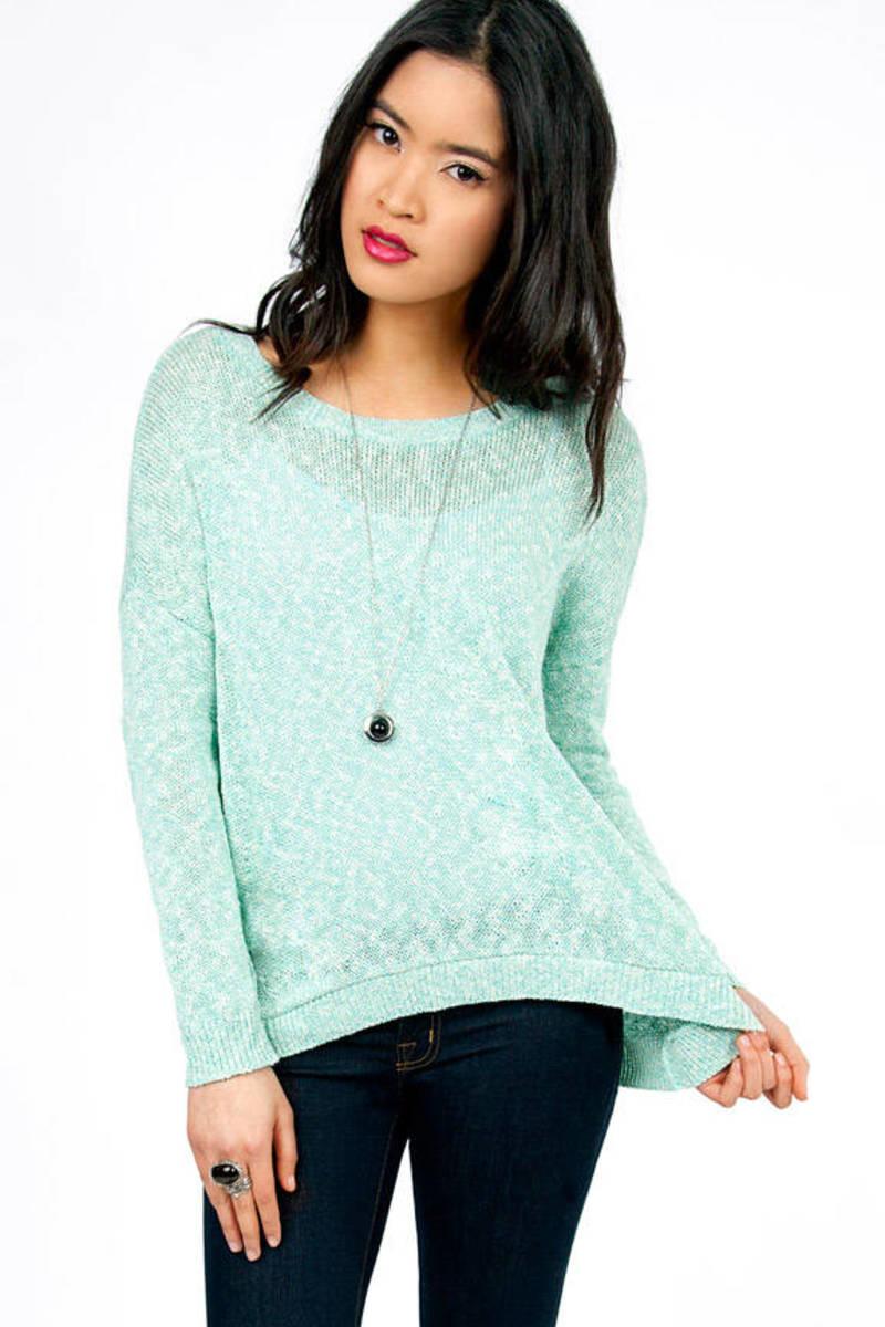Abigail Asymmetrical Sweater