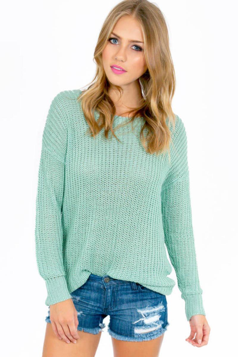 Basic Ally Round Neck Sweater
