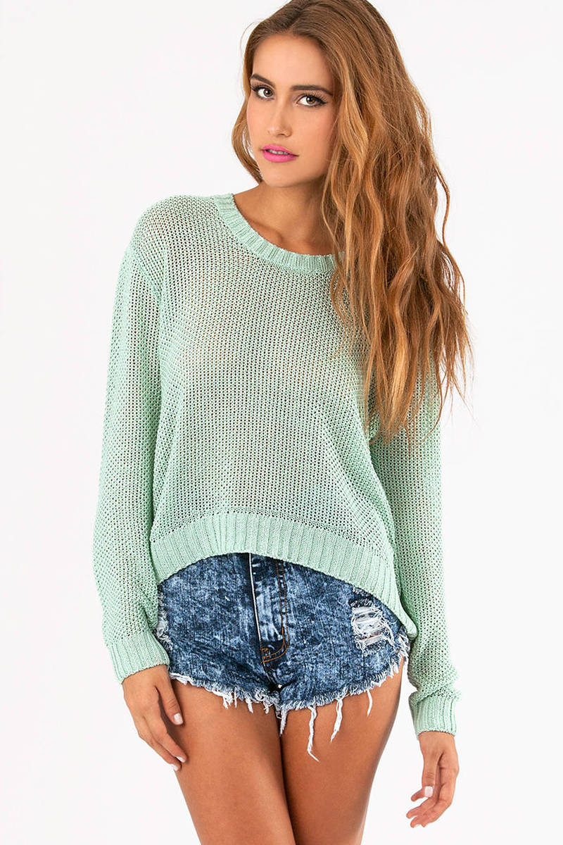 Breathe Easy Knit Sweater