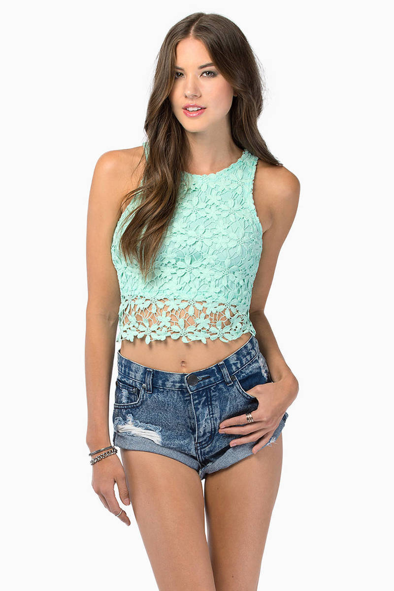 Have A Daisy Day Crop Top