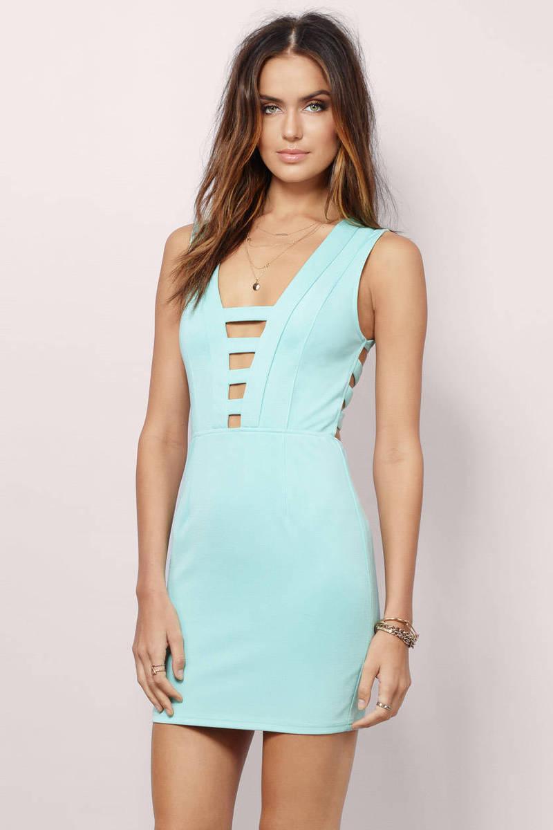 Hit The Lights Lavender Bodycon Dress