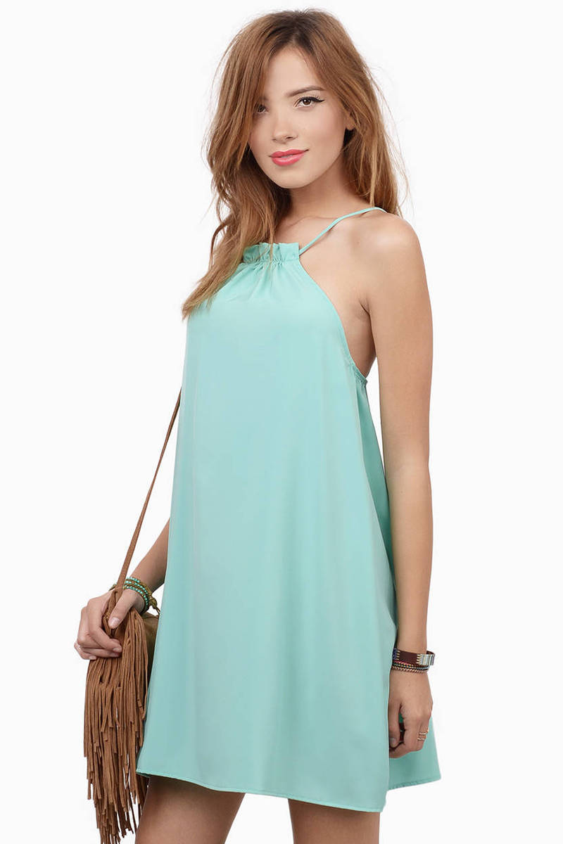 Make It Sweet Mint Shift Dress