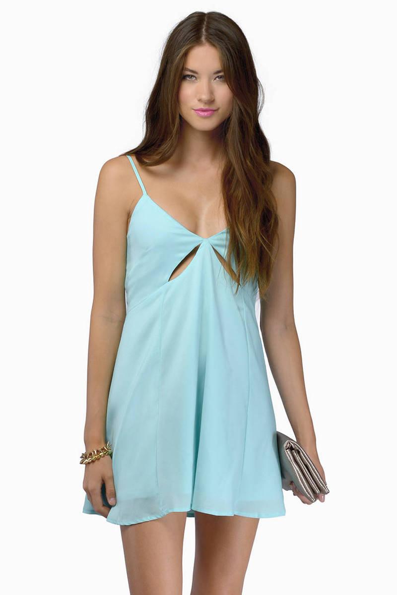 Minimal Exposure Cami Dress