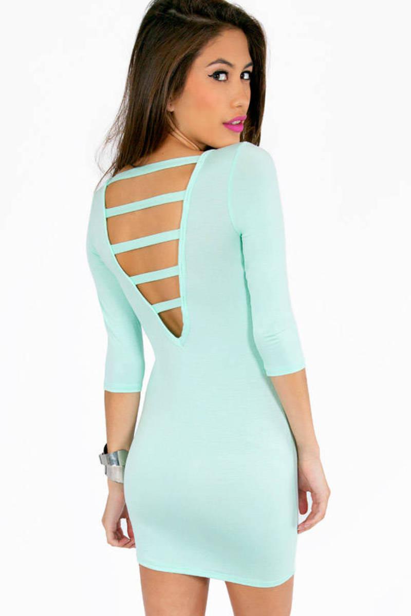 Sunny Strappy Back Dress