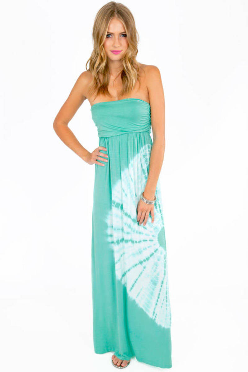 Tera Strapless Maxi Dress