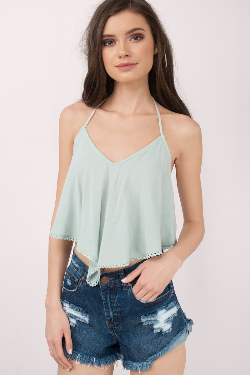 Stock up on these affordable options, and you'll have a stash of cute (sleeveless!) tops for even the hottest of days to come. Click on to scope out our picks — and while you're at it, maybe donate those faded, stained go-to's from last year.