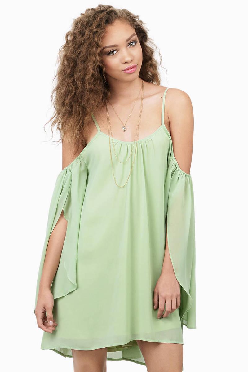 Weekend Getaway Mint Day Dress
