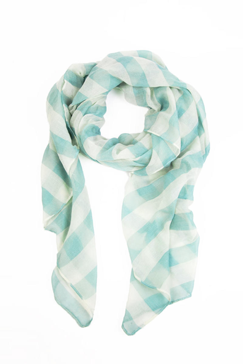 Evenly Striped Scarf