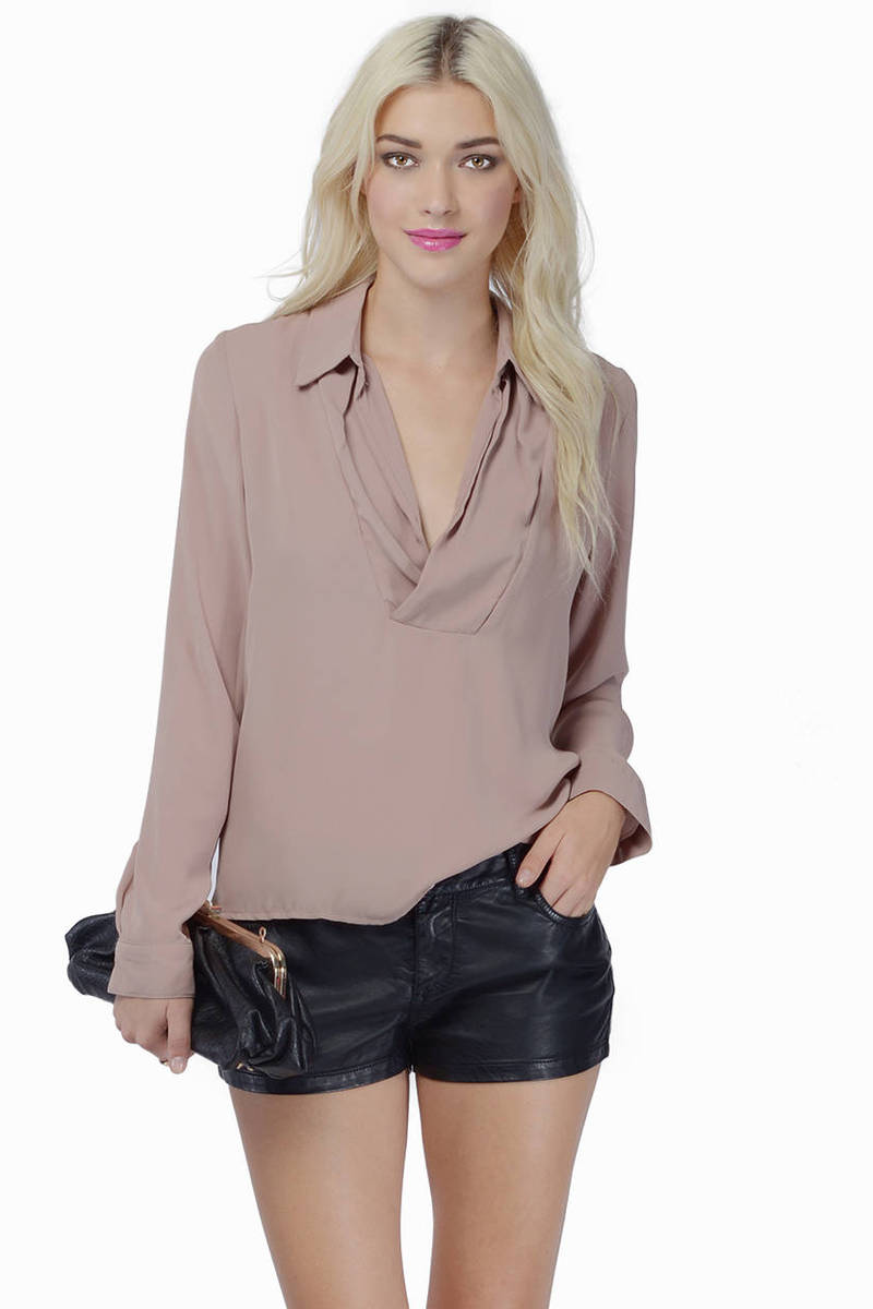Open Vixen Blouse