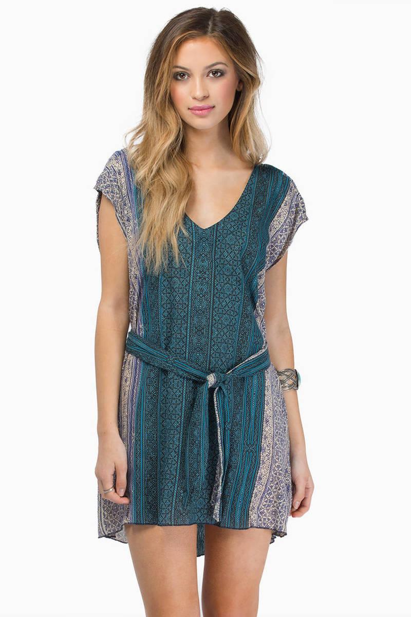 somedays lovin Blue Saloon Dress