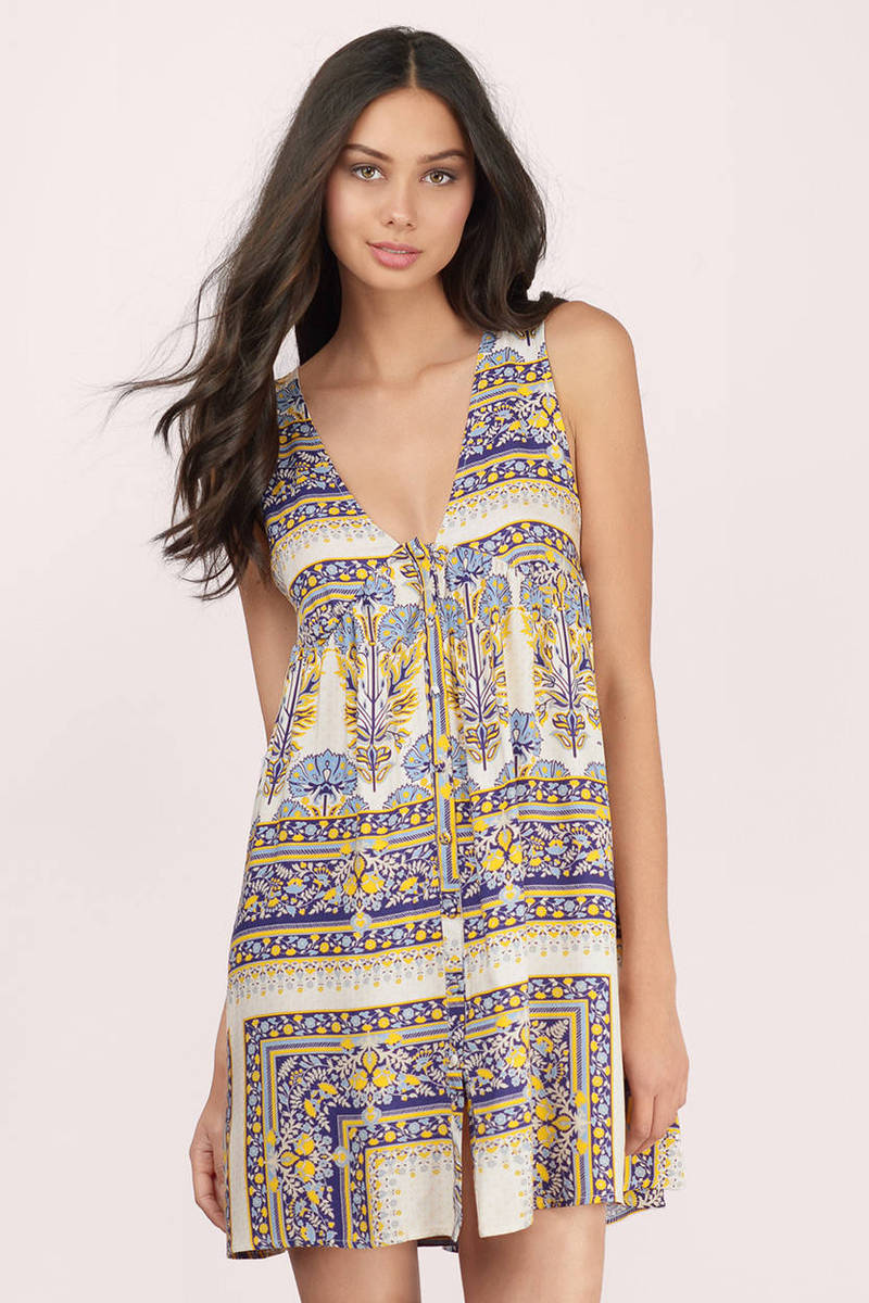 somedays lovin Calippo Scarf Print Dress