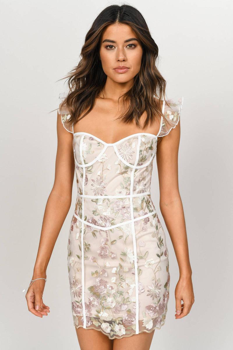 9bd7a6fe04cb Fancy That Multi Floral Bodycon Dress - $47   Tobi US