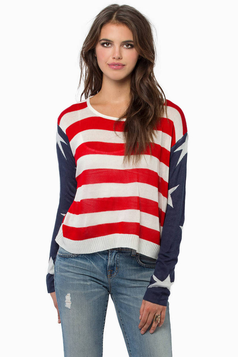 God Bless America Sweater
